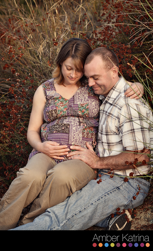 pasadena los angeles canyon wilderness park maternity picture photography