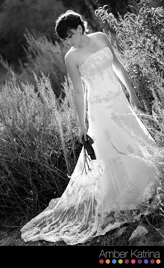 Azusa Arcadia Wedding Bridal Trash the Dress Photography Wilderness Park Picture
