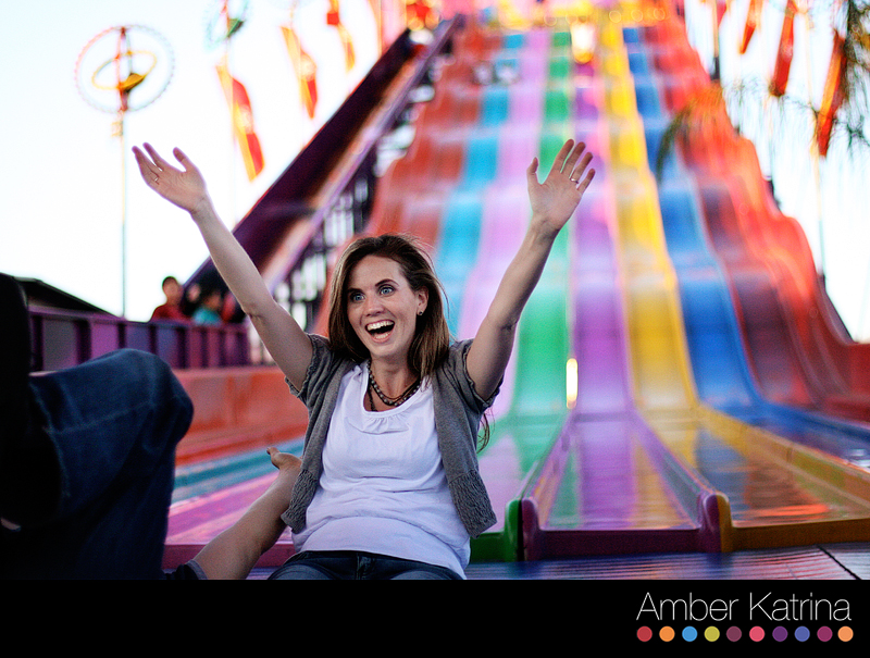 Los Angeles LA County Fair Engagement Photography Couple Picture