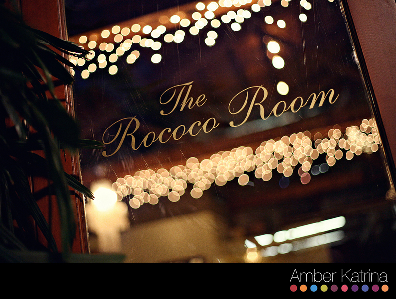 Pasadena Rococo Room Wedding Photography Picture