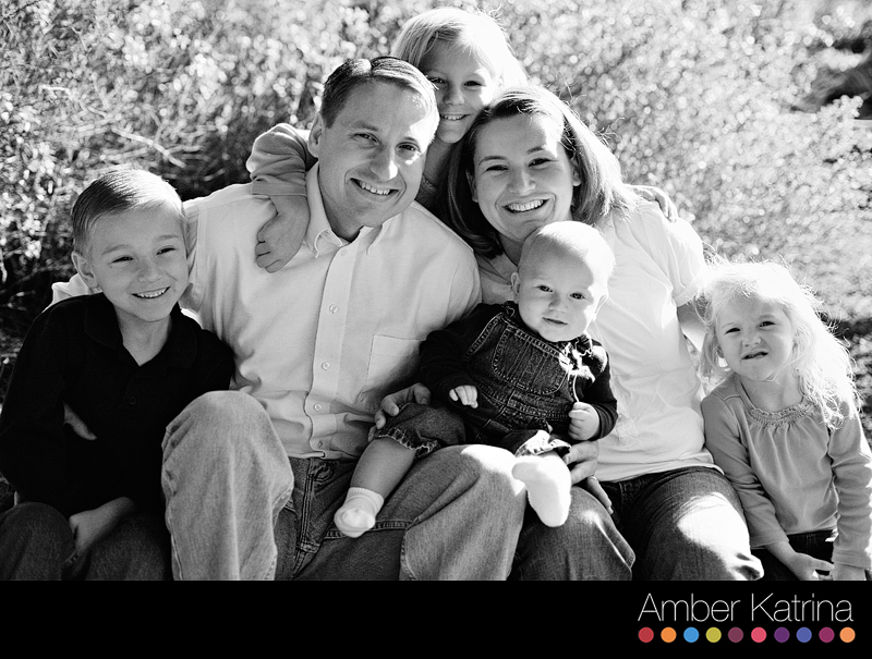 San Diego Child Photography Mormon LDS Family Picture