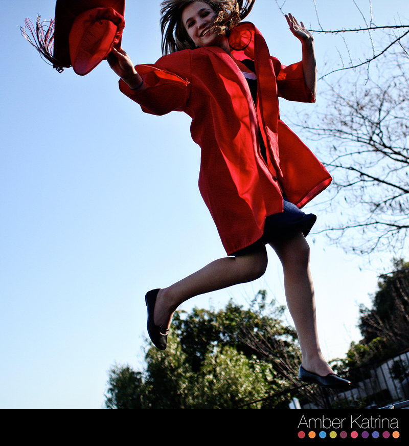 Glendora High School Senior Photography Graduation Picture