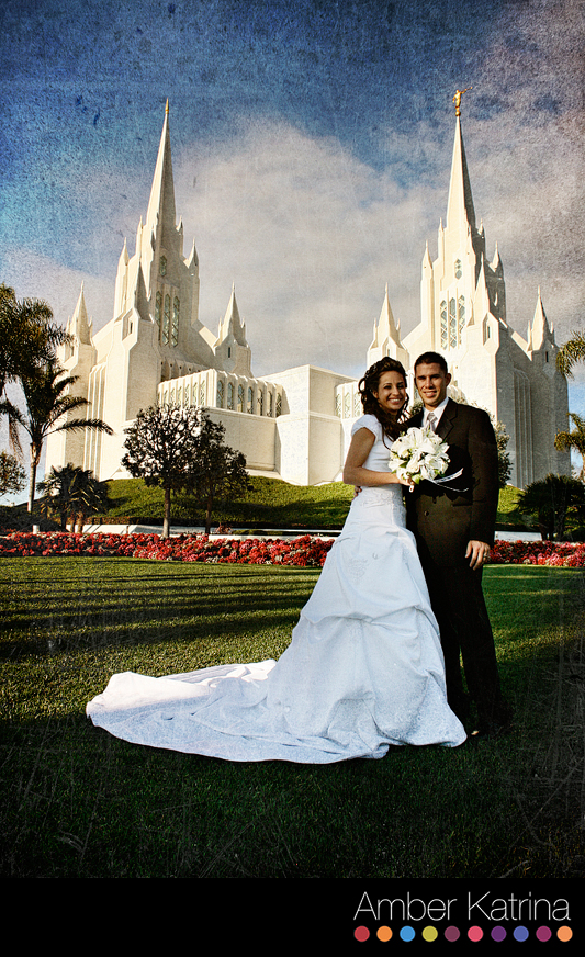 Lds Wedding Dresses San Diego : San diego lds temple wedding photography mormon picture g