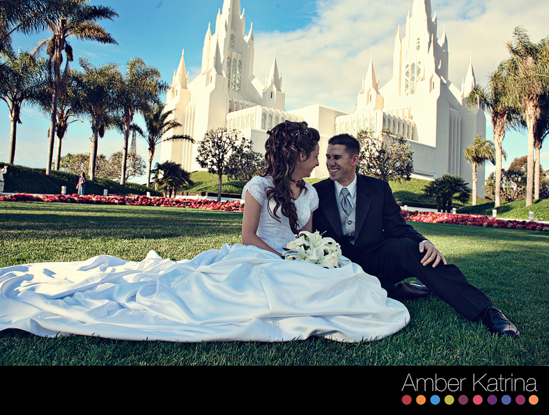 Lds Wedding Dresses San Diego : San diego lds temple wedding photography mormon picture