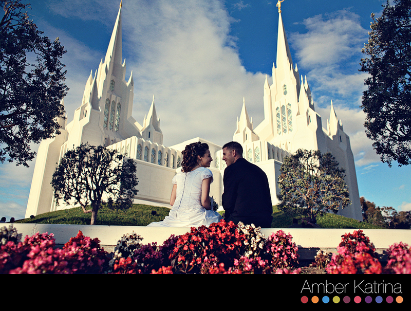 San Diego LDS Temple Wedding Photography Mormon Picture