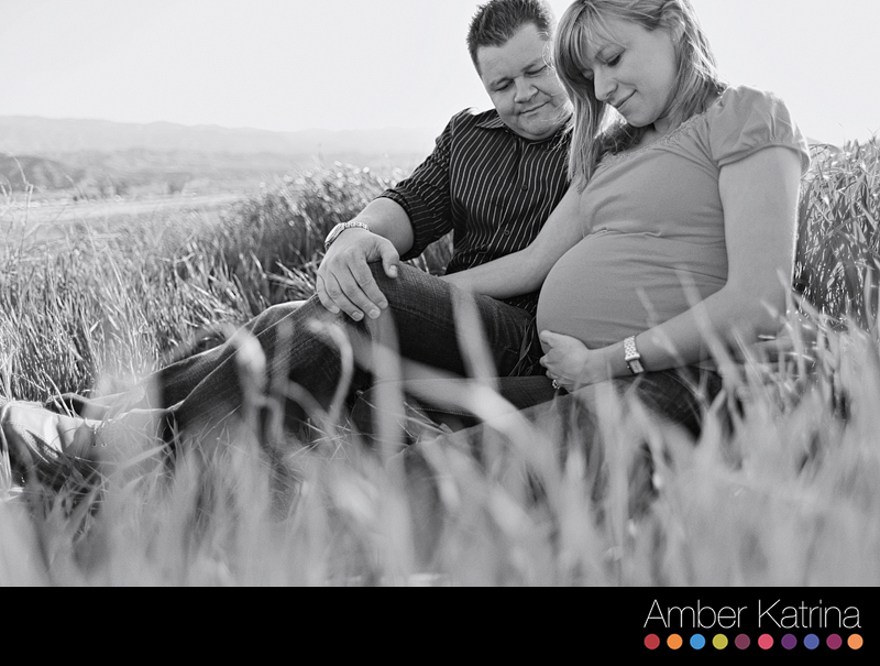Valencia southern california los angeles maternity dog couple family photography