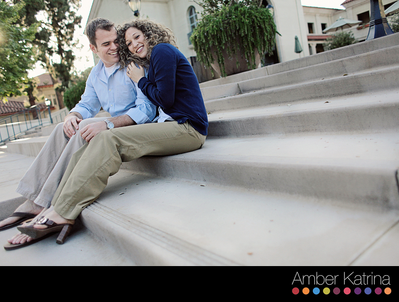 Claremont Los Angeles California Mormon lds engagement couples photography