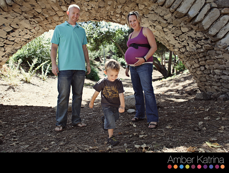 Pasadena California maternity family photography