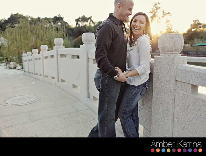 pasadena los angeles huntington gardens engagement photography