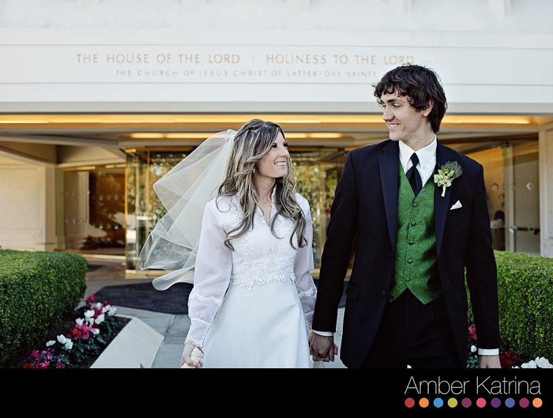 Inside Mormon Temple Wedding