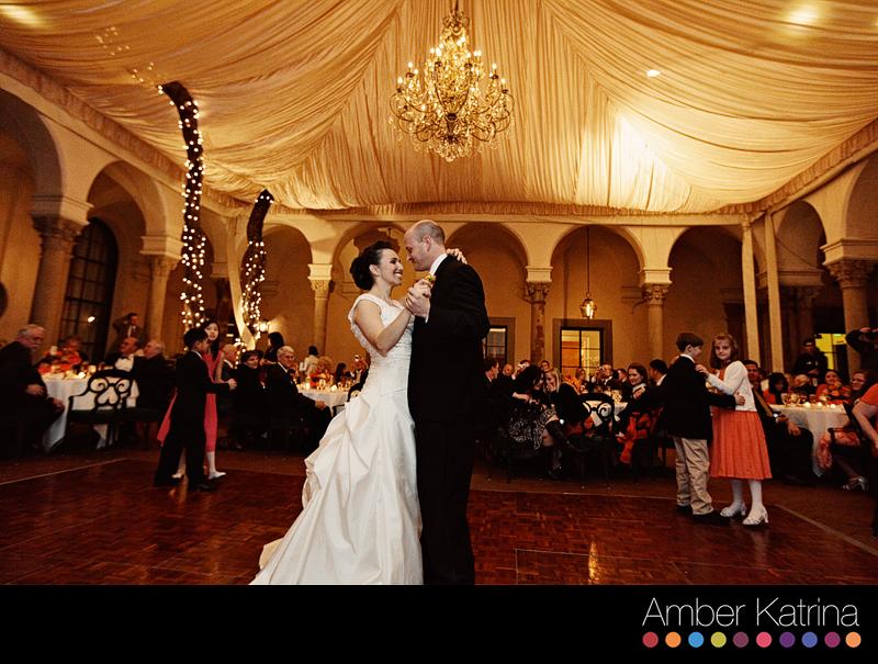 Los Angeles LDS Mormon Temple Wedding Reception at Caltech Athenaeum in Pasadena