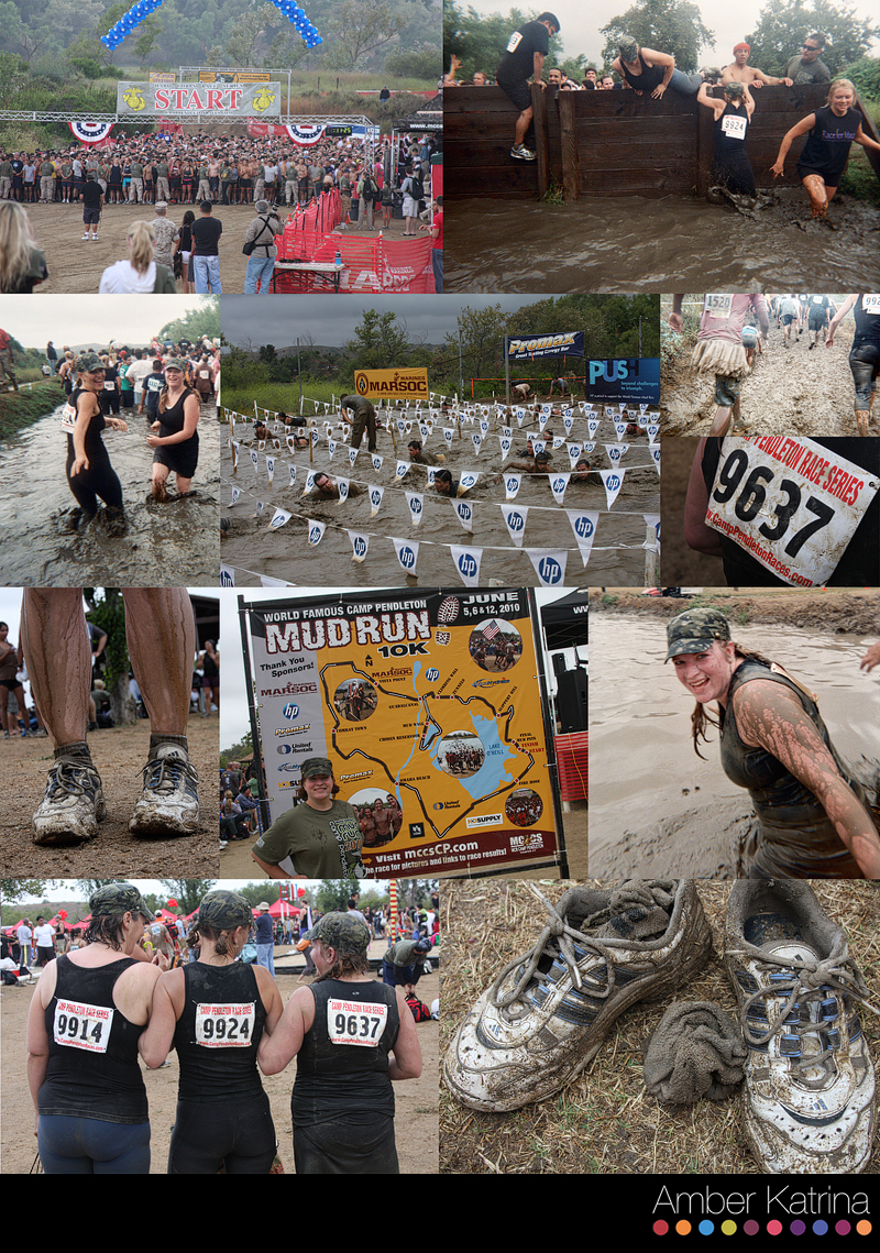 Camp Pendleton Mud Run race 2010 photography