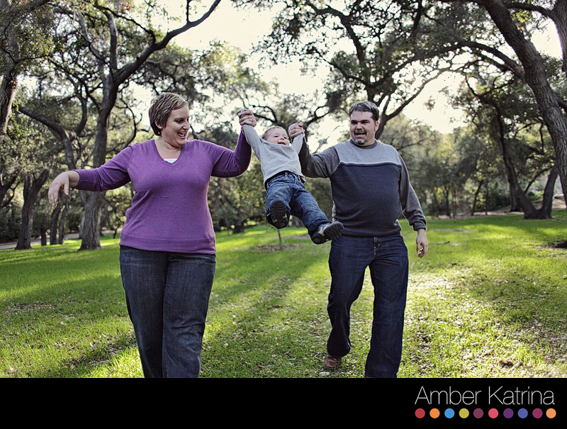 La Canada Descanso Gardens Family Photography Session