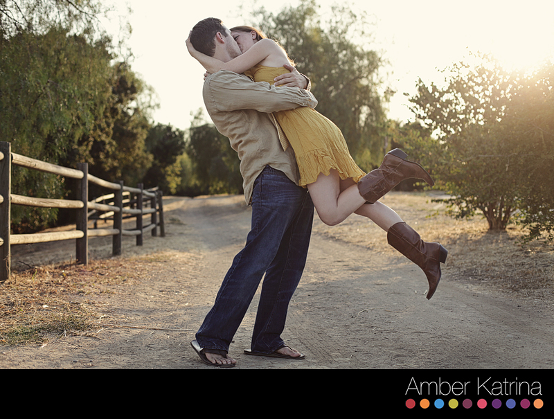 San Dimas Horsethief Canyon Park Engagement Photography Session