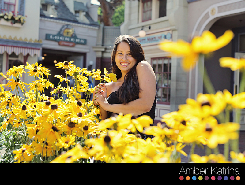 Anaheim Disneyland Orange County Senior Graduation Photography