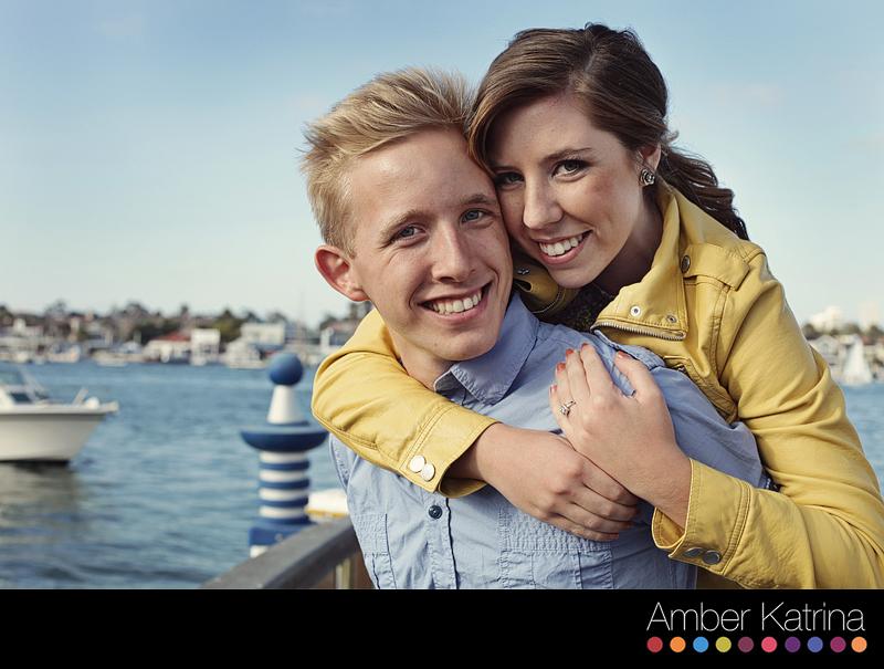Newport Beach Balboa Orange County Engagement Couple Photographer