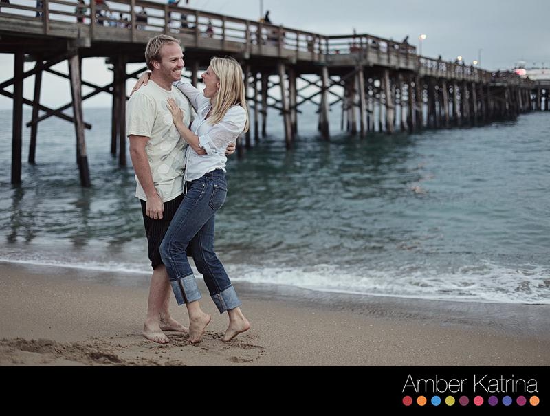 Newport Beach Balboa Orange County Engagement Couple Photography