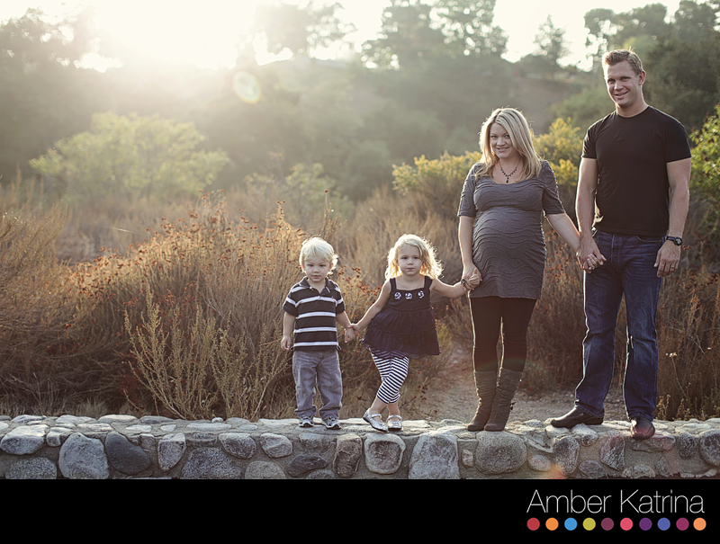 holiday christmas card mini photography family kids session eaton canyon