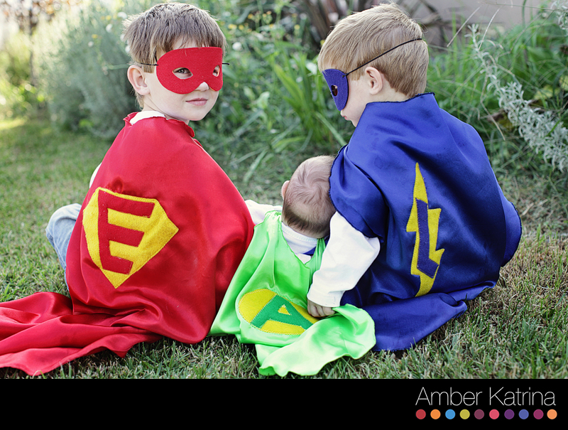 Halloween super hero kids photography1
