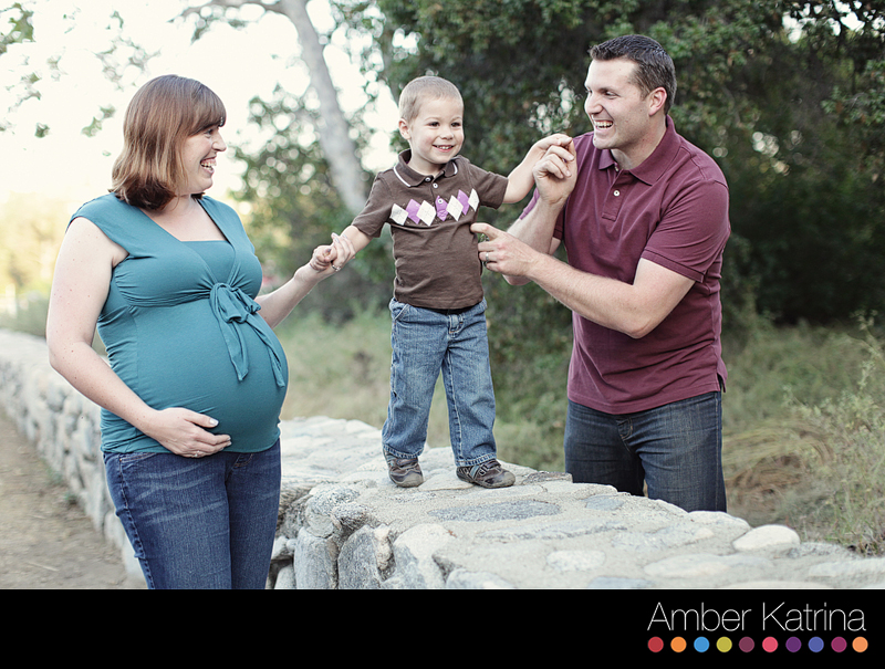 Pasadena photographer eaton canyon family maternity photography
