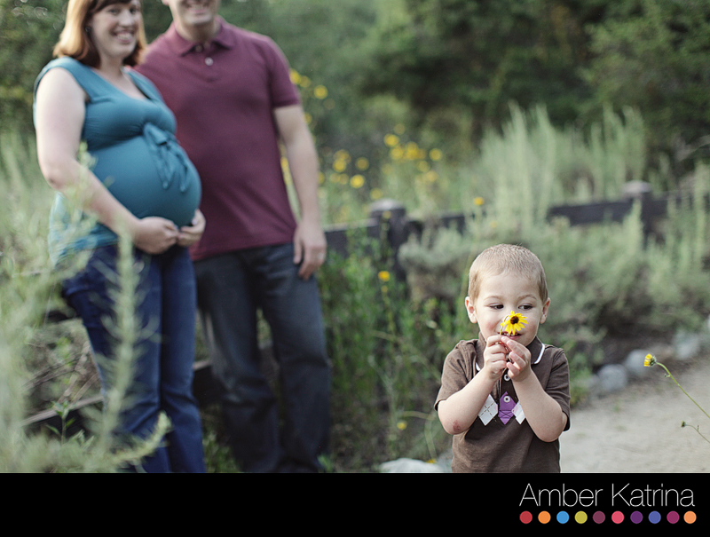 Pasadena photographer eaton canyon family maternity photography