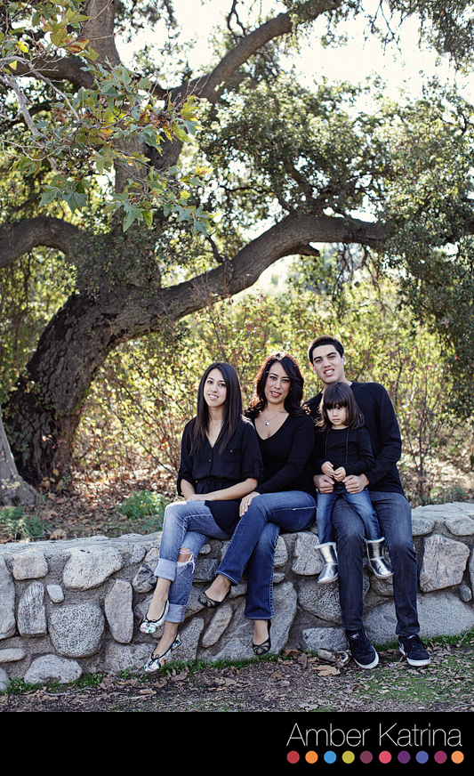 pasadena monrovia mini photo holiday photography eaton canyon park family portrait christmas pictures