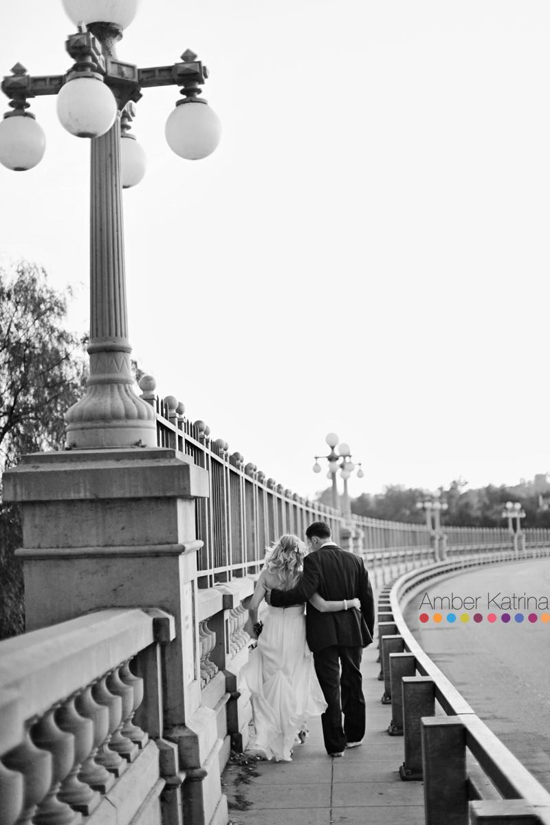 Pasadena Maxwell House Wedding Photography Colorado Street Bridge
