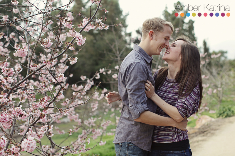 Pasadena Huntington Library and Gardens Engagement Photography