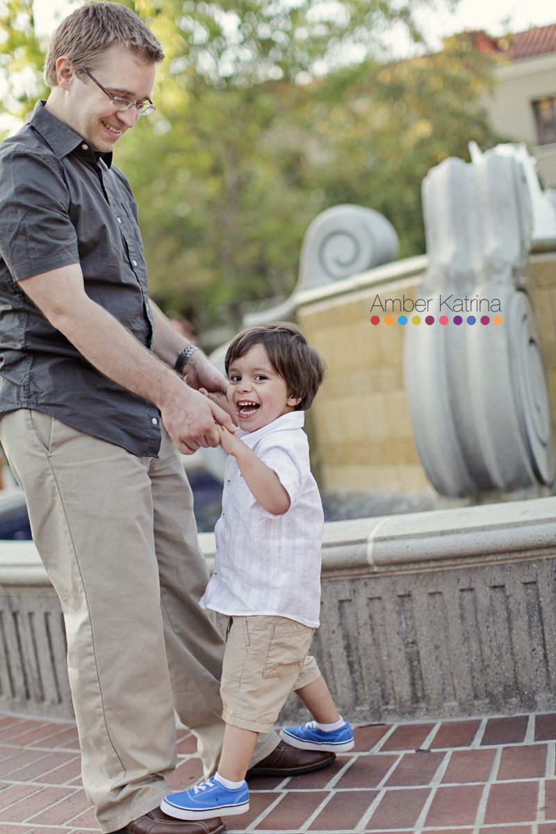 Claremont Colleges Maternity Photography Family Photo Session