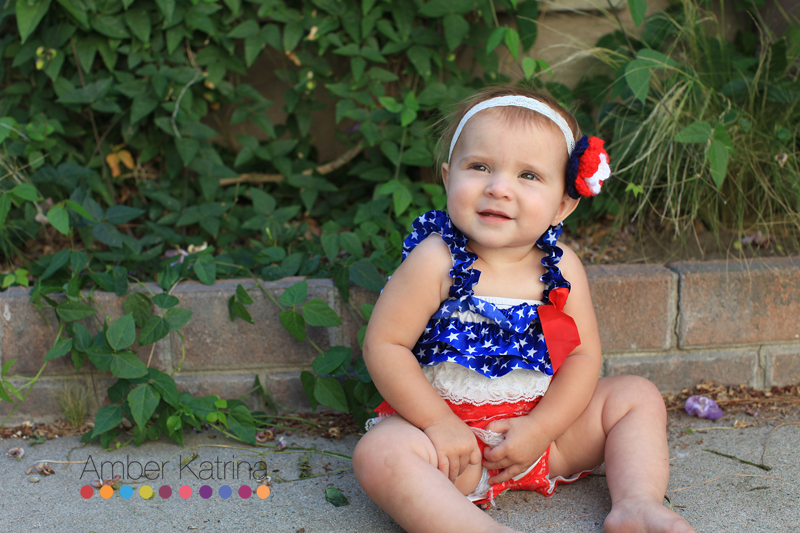 4th of July kids Photography red white and blue