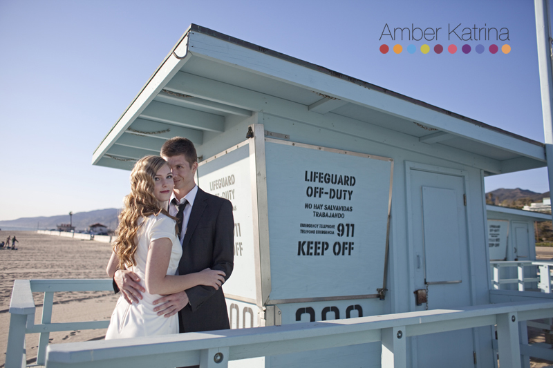 Malibu Zuma Beach Engagement Photography