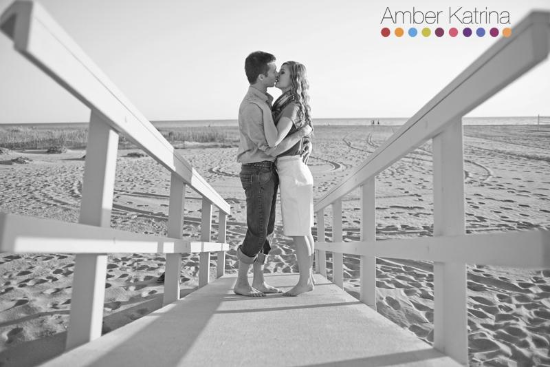 Malibu Zuma Beach Engagement Photography