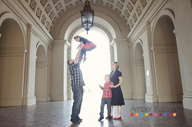 Pasadena City Hall Family Photography 10 year anniversary couple