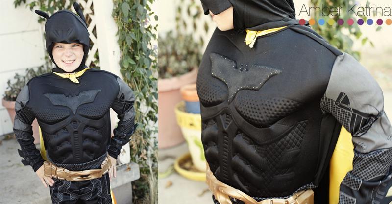 Halloween superhero kid costumes batman